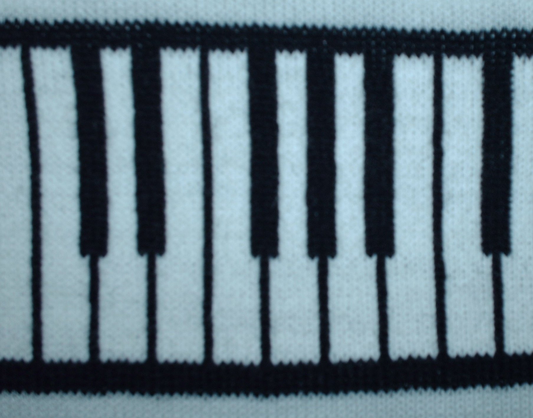 Knitting Pattern Piano Keyboard : Knitted Heirlooms - V Panel Sweaters